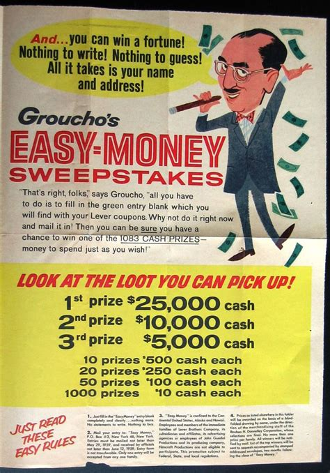 Easy Money Sweepstakes - 1000 images about marx brothers on pinterest casablanca margaret dumont and johnny