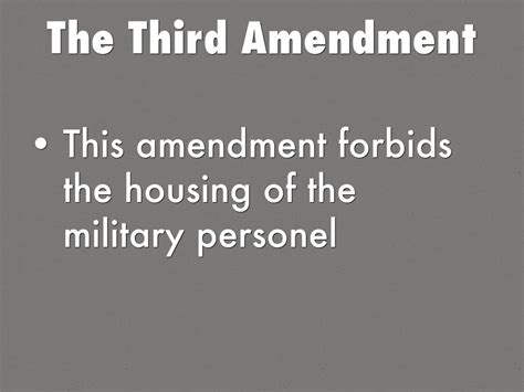 which amendment forbids the housing of troops in private homes the amendments 1 15 by mrdroom262