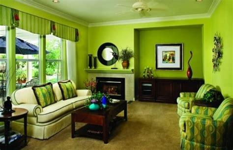 inspirasi cat rumah warna hijau  rumah