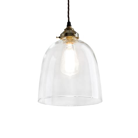 extra large glass bell pendant light kitchen inspiration buy old school electric blown glass bell pendant bronze