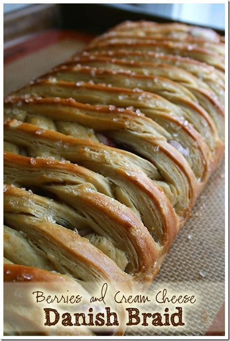 berries  cream cheese danish braid  scratch easy  follow instructions note  roll