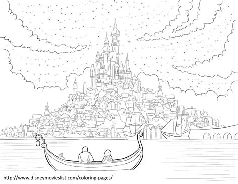 coloring page rapunzel tower 7 images of rapunzel tower coloring page disney tangled