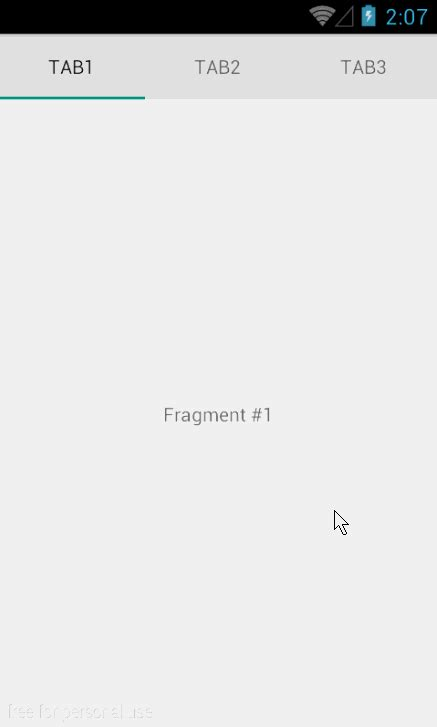 tab layout android design library android design library提供的tablayout的用法 泡在网上的日子