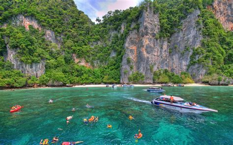 most beautiful places to visit phi phi islands thailand beautiful places to visit