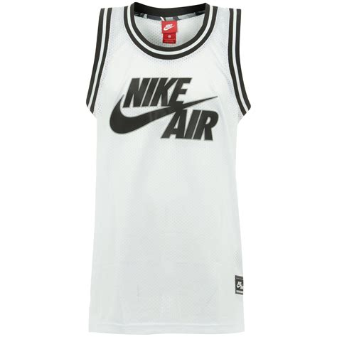 Logo Basketball Jersey nike uk store air logo white basketball jersey
