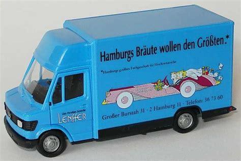 Lenffer Hamburg by 1 87 Mercedes 207d K 246 Gelaufbau Lenffer Hamburgs