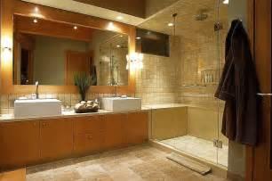 alluring big bathroom mirror ideas with maple wood frame lights feat