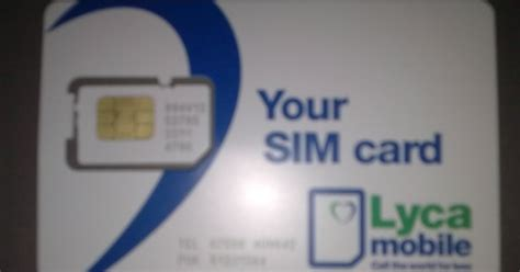 lyca mobile puk code mobile technology exploration mno vmno sim cards