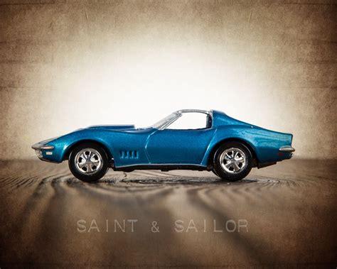 vintage corvette blue vintage car blue 1968 corvette t top corvette