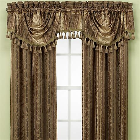 croscill drapes discontinued croscill monarch swag valance bed bath beyond