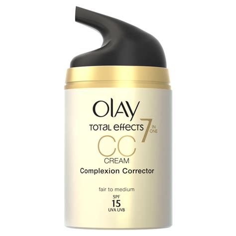 Bedak Olay Total Effect olay total effects pore minimiser cc fair medium