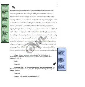 Exle Of Essay With Footnotes by Chicago Style Footnotes
