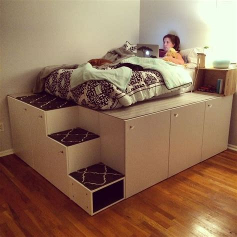 Bett Stauraum by 25 Best Ideas About Ikea Bett On Ikea
