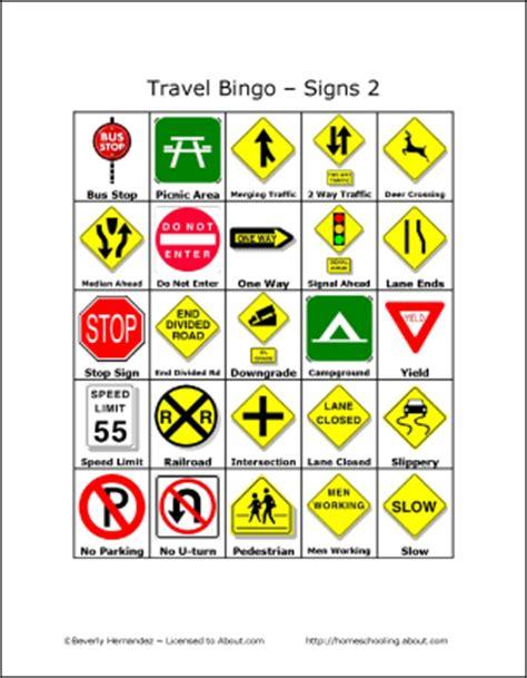 Travel Bingo Card Template by Printable Bingo Cards