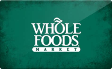 Whole Food Gift Cards - buy whole foods gift cards raise