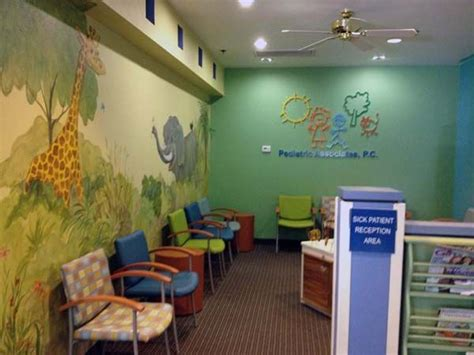beth katz katzdesigngroup was hired to select paint and flooring for the clinical spaces