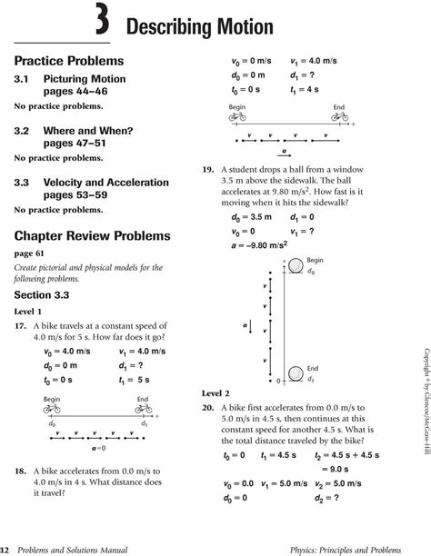 Physics Principles And Problems Transparency Worksheet Answers by Math Handbook Transparency Worksheet 4 Math Handbook