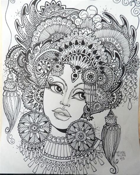 doodle hair do 168 best images about zentangle hair on