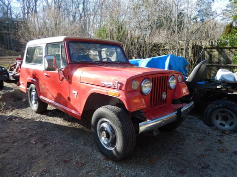 jeep jeepster for sale 1971 jeep commando 3 7l v6 4x4 jeepster kaiser sale or