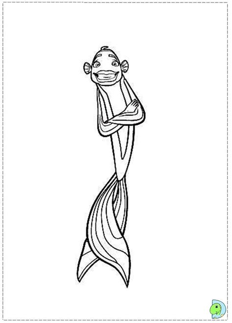 Free Lola Shark Tale Coloring Pages Shark Tale Coloring Pages