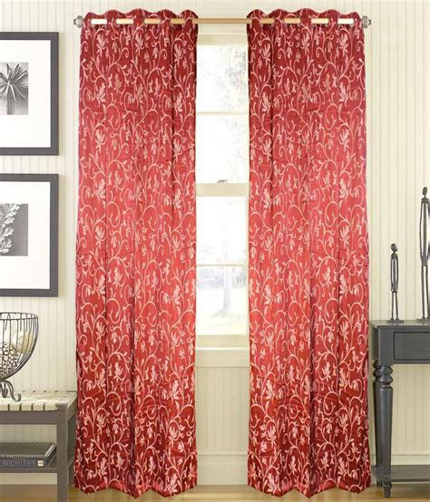 curtain fabric red shandar red natural polyester curtain fabric buy shandar