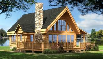 House Plans Log Cabin Log Cabin House Plans Rockbridge Log Home Cabin Plans Back Deck And Place For Deck