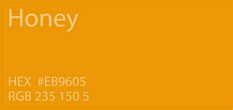 color of honey 24 shades of orange color palette graf1x