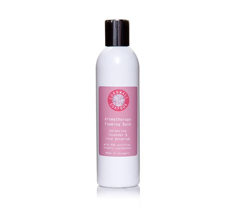 Shoo Aromatherapy Lavender 250ml lavender and geranium aromatherapy foaming bath