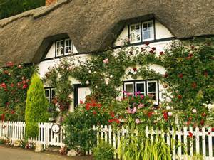 house cottage garden wallpaper desk garden wallpaper