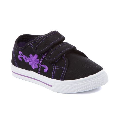 toddler canvas shoes low top velcro casual sneakers tennis