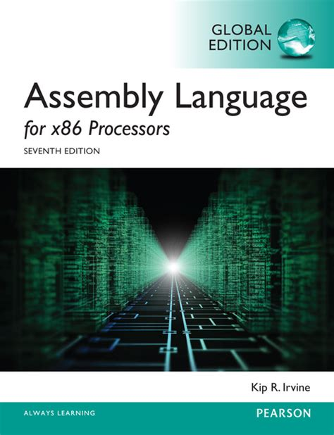pearson education assembly language for x86 processors