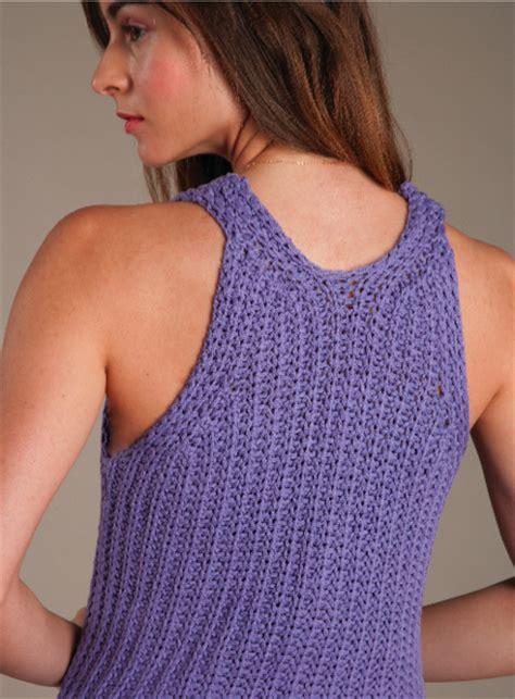free knitted top patterns knit tank top free knitting pattern craftfoxes