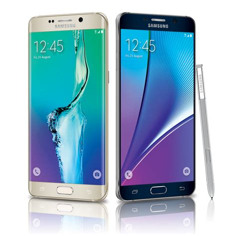 Samsung S6 Note battle of the samsungs galaxy note 5 vs s6 edge fortune