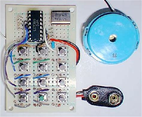 Micro Frequency Generator Detox Box by Dtmf Generator Lc7366