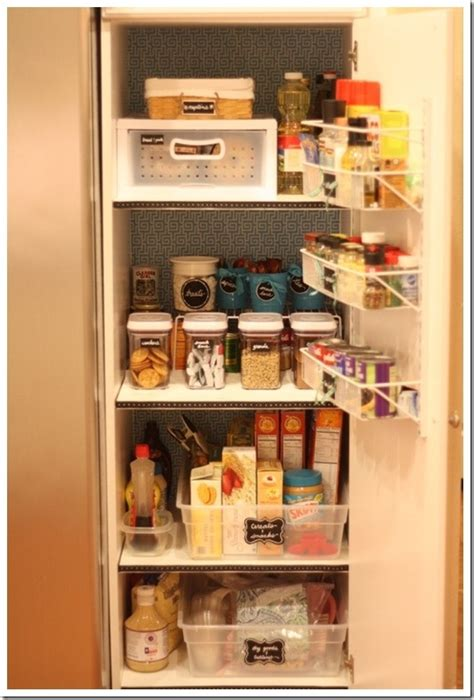 Organizing A Pantry With Wire Shelves by Really Organized Small Pantry Organization Inspiration