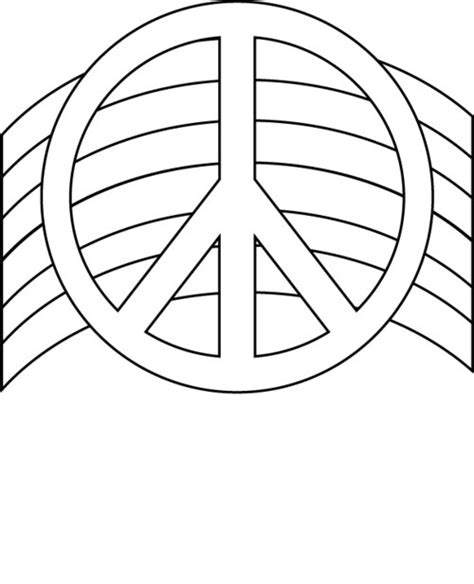 free printable peace sign coloring pages gt gt disney