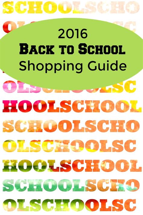 back to school shopping guide and price points for 2017 back to school 2016 shopping tips price points and more