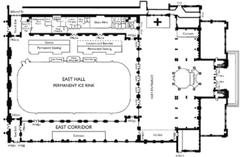 roller skating rink floor plans ice rink alexandra palace