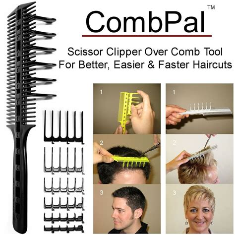 Where Can I Buy Combpal | combpal pro haircutting comb tool scissor clipper over