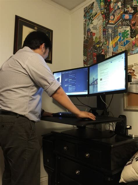 winston stand up desk winston sit stand workstation review the gadgeteer