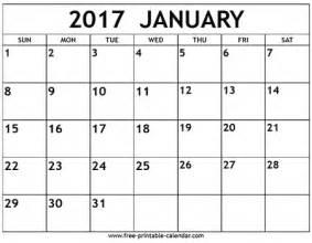Calendar 2017 January Image Gallery January Calendar