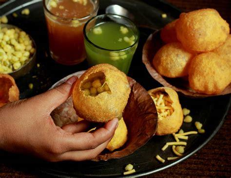 Green Kitchen Ideas mumbai style sukha pani puri recipe by archana s kitchen