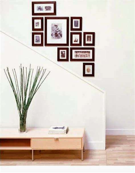 Staircase Wall Decor Ideas | 50 creative staircase wall decorating ideas art frames