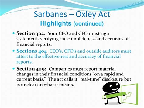 sarbanes oxley section 302 worldcom and enron