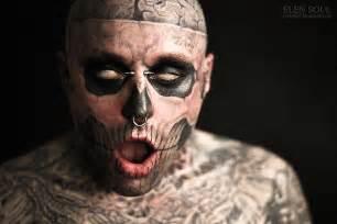 elen soul tattoo convention 2012 zombie boy