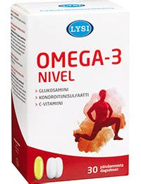 Varten 160mg lysi omega 3 nivel 30 kaps 60 tabl apteekkishop fi
