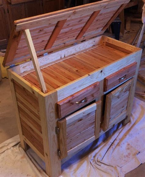 diy wood pallet cabinet ideas pallets designs