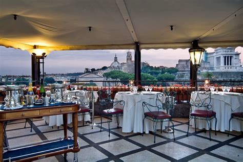 best restaurants in rome with a view top 10 restaurants in rome with an view