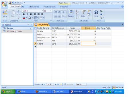 cara membuat query basis data cara membuat data base dan aplikasi sederhana di microsoft