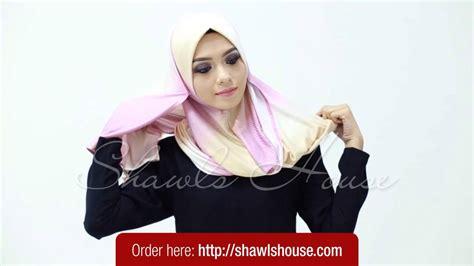 tutorial pashmina denim tutorial clara denim instant shawl by she youtube